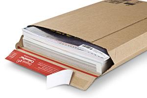 Bolsa de carton canal F, fuertes y finos.