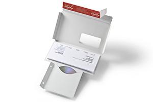 Briefumschläge für den Versand von CDs, DVDs, Blue-ray usw.