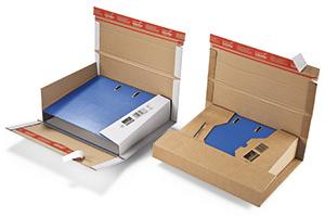 Wrap-Around-Kartons für verstärkte Aktenordner.