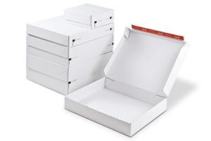 Cajas postales para envío textil.