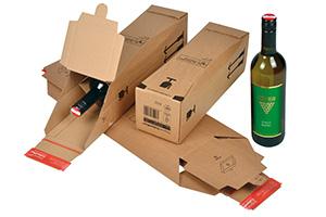 Cajas para botelas de vino (1, 3,ó 6 botellas).